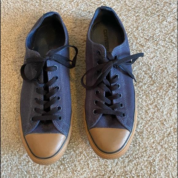 Men's navy Converse sneakers